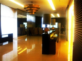 Mosaic lobby