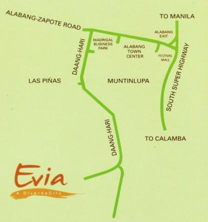 evia map
