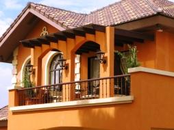 Ponticelli House balcony