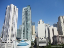 nearby buildings