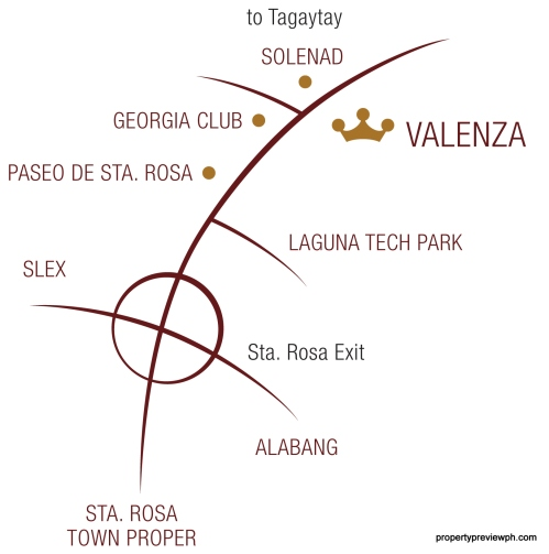crown asia valenza map