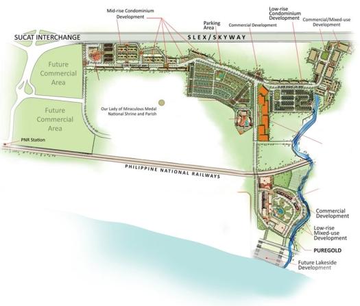 Lakefront masterplan