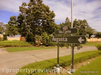 Augusta entrance sign