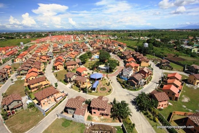 Ponticelli aerial view