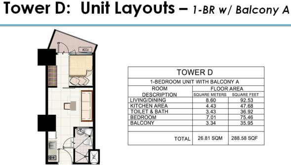 Jazz floor plan