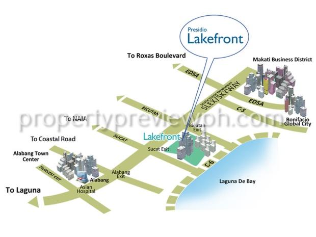 presidio map