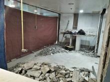 Demolition stage.